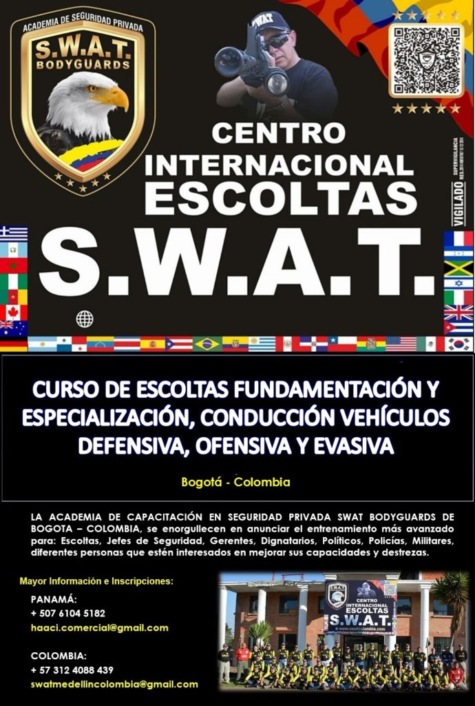 SWAT COLOMBIA pagina web